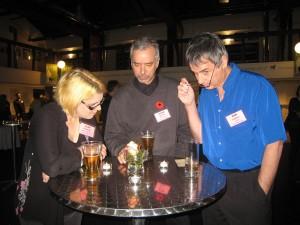 Alma Fullerton, Brian Deines and Rob Laidlaw. Photo credit: Pat Thornton Jones.