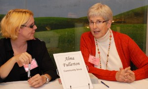 Alma Fullerton and Jill MacLean. Photo credit: Paul Wilson.
