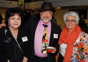 Charlotte Teeple, John Spray and Mary Macchiusi. Photo credit: Paul Wilson.