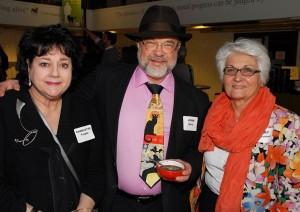 Charlotte Teeple, John Spray and Mary Macchiusi. Photo credit: Paul Wilson.