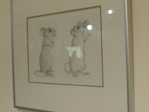 "Dean Griffiths's The Stowaways ""Character Sketch"". Photo credit: Ellen Nodwell."