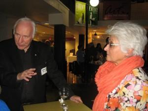 Harry Black and Mary Macchiusi. Photo credit: Pat Thornton Jones.