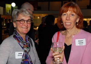 Jane Glassco and Mary Anne Cree. Photo credit: Paul Wilson.
