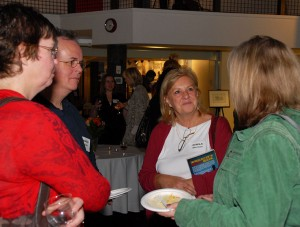 Karen Bass, Martin Gould, Gisela Sherman and Marsha Skrypuch. Photo credit: Paul Wilson.