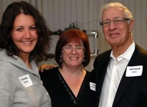 Rachel Seigel, Susan Menchinton and Arthur Gale. Photo credit: Paul Wilson.