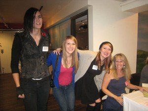 Tristan, Erin, Sarah and Stephanie McLellan. Photo credit: Pat Thornton Jones.
