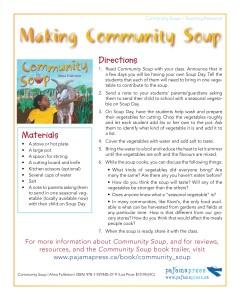 CommunitySoup_ActivitySheet