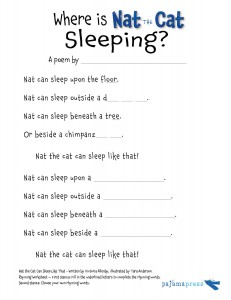 NatTheCat_RhymingWorksheet