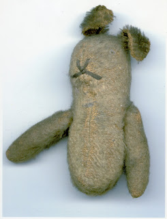 Aileen's teddy, sent to Lawrence at the front