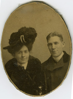 May and Lawrence's wedding photo