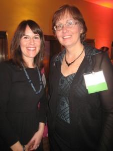 Nominated authors Meghan Marentette and Karen Bass