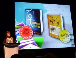 Graffiti Knight wins the Geoffrey Bilson Award