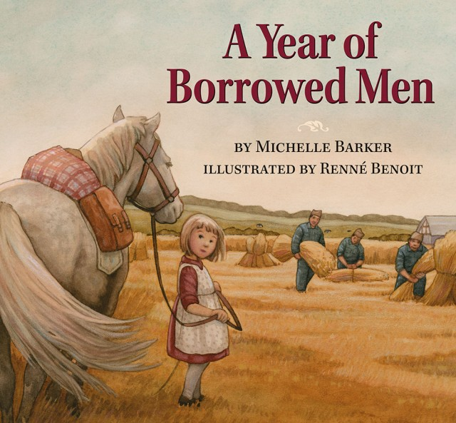 A Year of Borrowed Men | Michelle Barker & Renné Benoit | Pajama Press