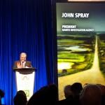 John Spray, author of Next Round and benefactor of the John Spray Mystery Award