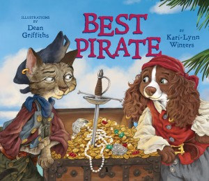 Cover: Best Pirate Author: Kari-Lynn Winters Illustrator: Dean Griffiths Publisher: Pajama Press