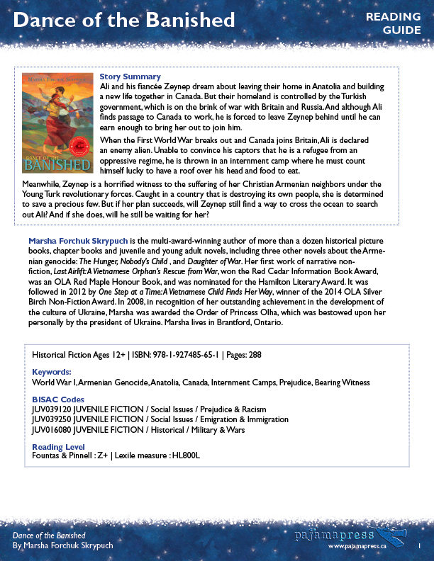 Resources | Pajama Press
