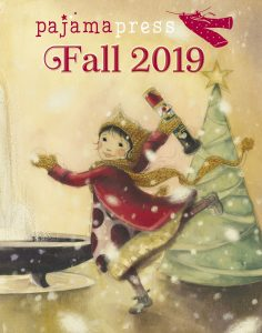 Fall 2019 catalogue cover for Pajama Press